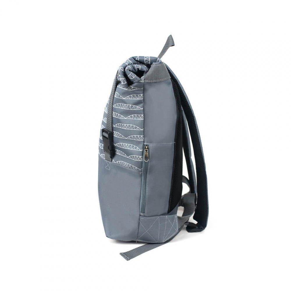 plecak mlynski z profilu
