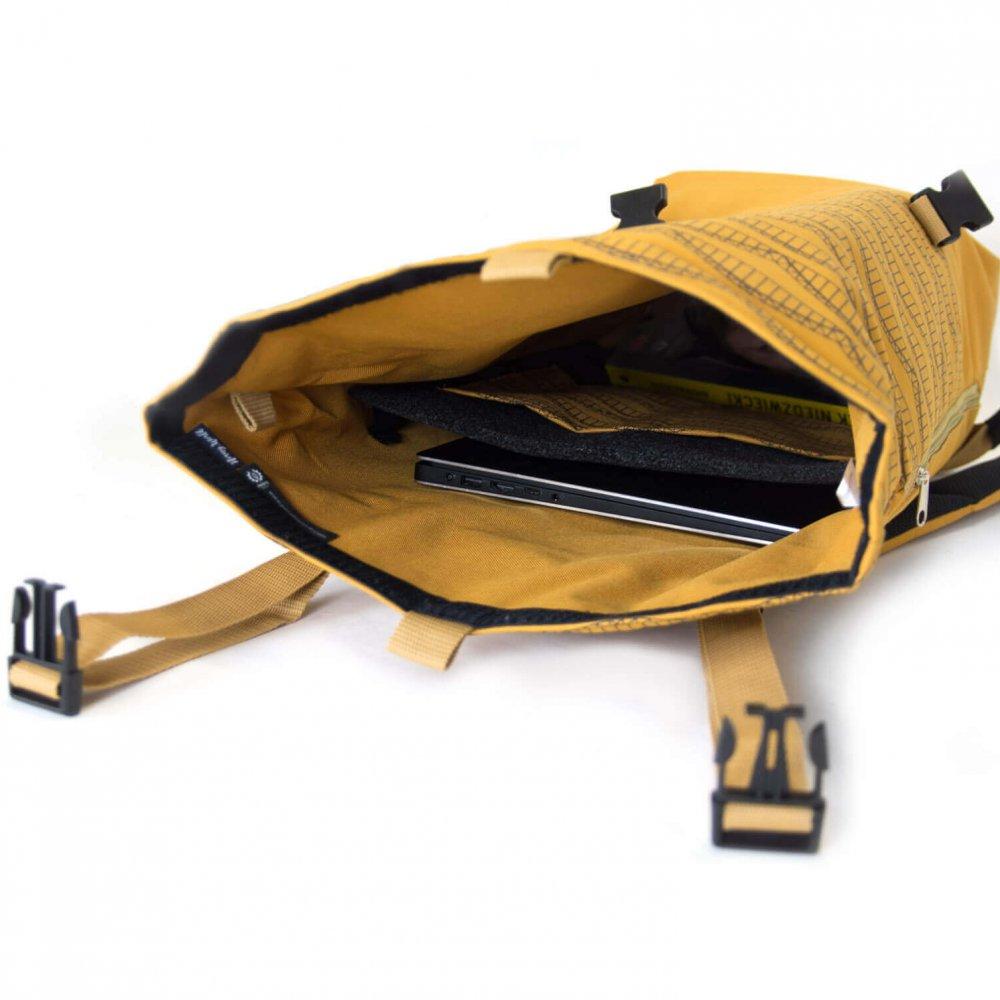 plecak zwierzyniecki przegroda na plaptopa